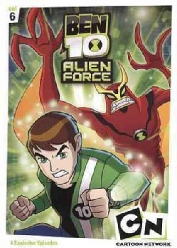 Ben 10 Alien Force: Vol 6 (DVD)