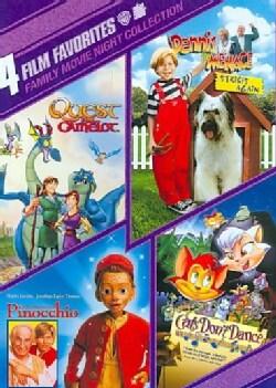 4 Film Favorites: Family Movie Night (DVD)