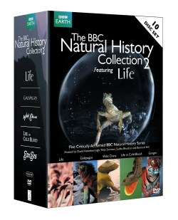 BBC Natural History Collection 2 Featuring Life (DVD)