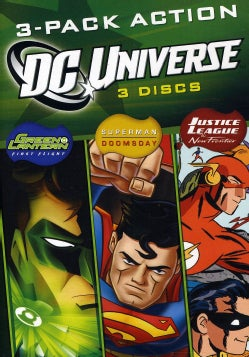 DC Universe 3-Pack Action (DVD)