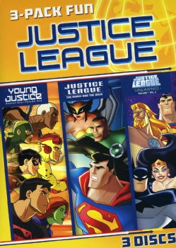 Justice League 3 Pack Fun (DVD)