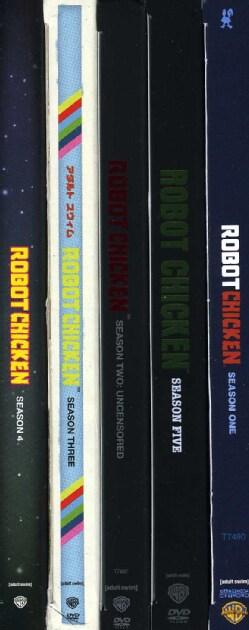 Robot Chicken: Seasons 1-5 (DVD)