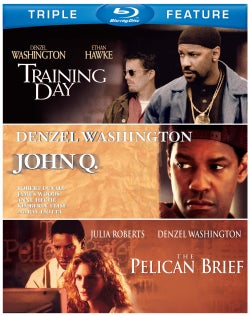 John Q/The Pelican Brief/Training Day (Blu-ray Disc)