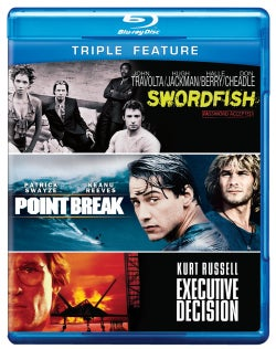 Executive Decision/Point Break/Swordfish (Blu-ray Disc)