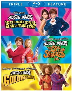 Austin Powers: International Man Of Mystery/Austin Powers: The Spy Who Shagged Me/Austin Powers: Goldmember (Blu-ray Disc)