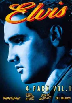 Elvis 4 Movie Collection Vol. 1 (DVD)