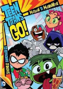 Teen Titans Go!: Mission To Misbehave Season 1 Part 1 (DVD)