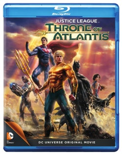 Justice League: Throne of Atlantis (Blu-ray Disc)