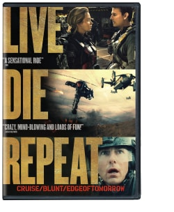 Live Die Repeat (aka Edge of Tomorrow) (DVD)