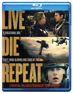 Live Die Repeat (aka Edge of Tomorrow) (Blu-ray/DVD)