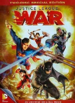 DCU: Justice League- War (DVD)