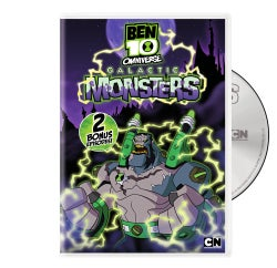 Ben 10 Omniverse: Galactic Monsters (DVD)