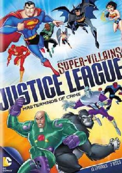 Supervillains Justice League: Masterminds of Crime (DVD)