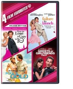 4 Film Favorites: Matthew McConaughey (DVD)