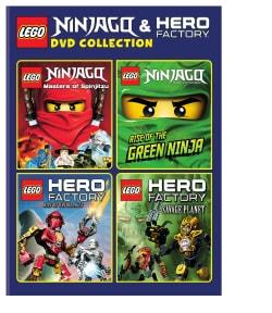 LEGO: Ninjago And Hero Factory DVD Collection (DVD)