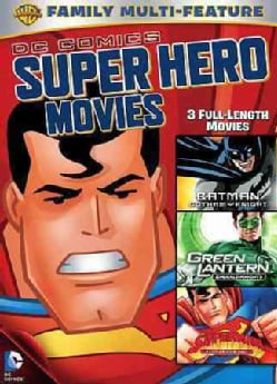 DC Superheroes Movies 3-Pack (DVD)