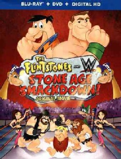 The Flintstones & WWE:  Stone Age Smackdown (Blu-ray Disc)