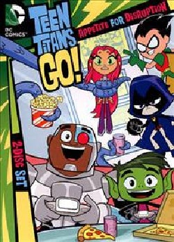Teen Titans Go!: Appetite for Disruption Season Two Part One (DVD)