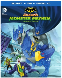 Batman Unlimited: Monster Mayhem (Blu-ray/DVD)