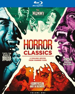 Hammer Horror Collection (Blu-ray Disc)