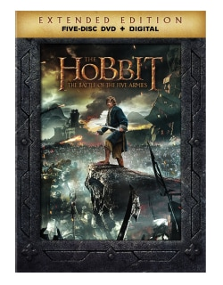 The Hobbit: Battle of The Five Armies (Extended Edition) (DVD)