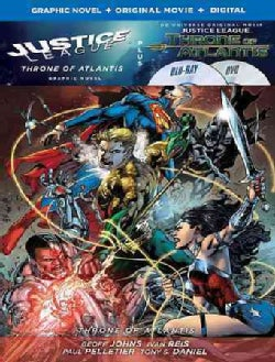 Justice League: Throne of Atlantis w/ Justice League Vol. 3: Throne of Atlantis Graphic Novel (Blu-ray/DVD)