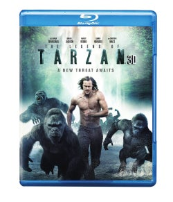 The Legend Of Tarzan 3D (Blu-ray/DVD)