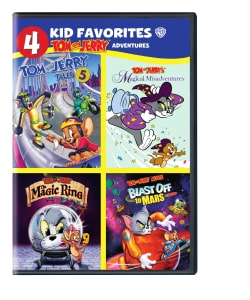 4 Kid Favorites: Tom and Jerry's Adventures (DVD)