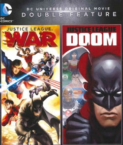 DCU Justice League: Doom/DCU: Justice League: War (Blu-ray Disc)
