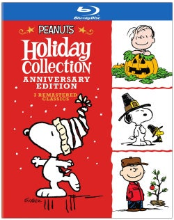 Peanuts Holiday Collection (Anniversary Edition) (Blu-ray Disc)