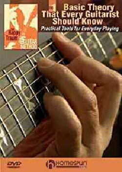 The Happy Traum Guitar Method: Basic Theory That Every Guitarist Should Know Vol 1 & 2 (DVD)