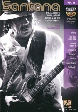 Santana: Guitar Play Along: Vol. 36 (DVD)