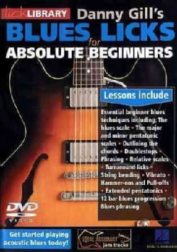 Blues Licks for Absolute Beginners (DVD)