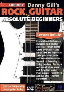 Rock Guitar for Absolute Beginners (DVD)