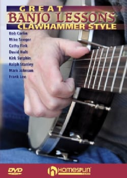 Great Banjo Lessons: Clawhammer Style (DVD)