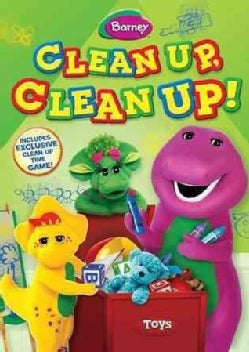 Barney: Clean Up, Clean Up! (DVD)