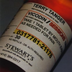 TERRY TANGER - VICODIN SESSIONS