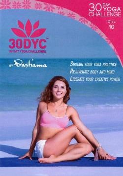 30DYC: 30 Day Yoga Challenge with Dashama: Disc 10 (DVD)