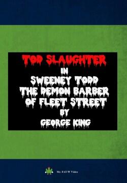 Sweeney Todd The Demon Barber Of Fleet Street (DVD)