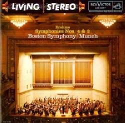 Johannes Brahms - Brahms: Symphonies No. 4 in E Minor, Op. 98 & No. 2 in D Major, Op. 73