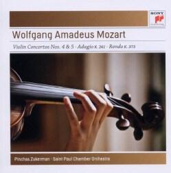 Wolfgang Amadeus Mozart - Mozart: Violin Concertos Nos. 4 & 5
