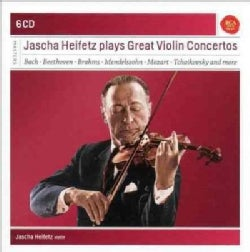 Various - Jascha Heifetz Plays Great Violin Concertos