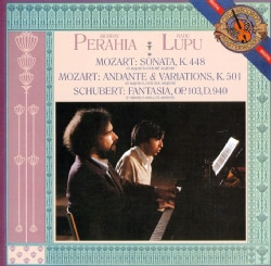 Radu Lupu - Mozart/Schubert: Works for Piano Four Hands