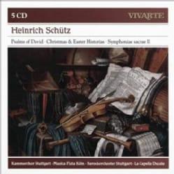 Various - Schutz: Psalms of David/Christmas & Easter Historias/Symphoniae Sacrae II