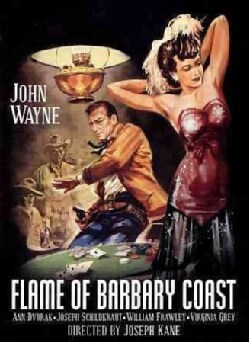 Flame of Barbary Coast (DVD)