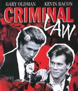 Criminal Law (Blu-ray Disc)