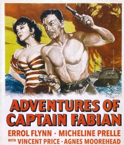 Adventures of Captain Fabian (Blu-ray Disc)