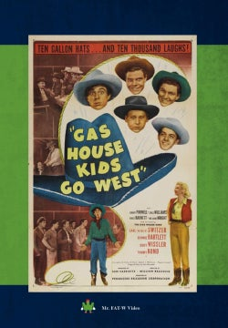 Gas House Kids Go West (DVD)
