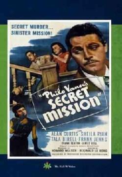 Philo Vance's Secret Mission (DVD)