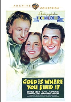 Gold Is Where You Find It (DVD)